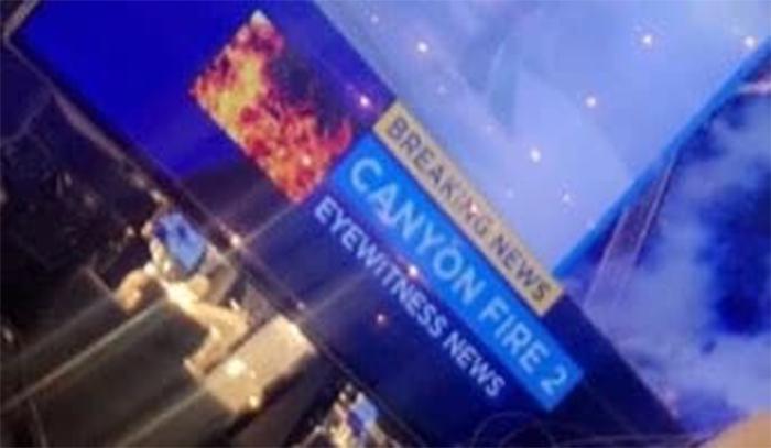 captura de pantalla televisión noticias