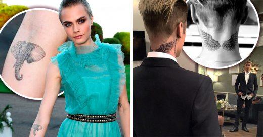 20 Increíbles tatuajes de los famosos que quizá te inspiren a hacerlo de una vez