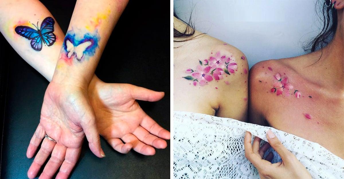 Tatuajes de mamá e hija