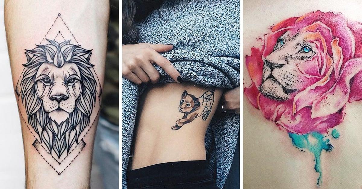 20 Bonitos tatuajes inspirados en felinos que te harán sacar a la fiera que llevas dentro
