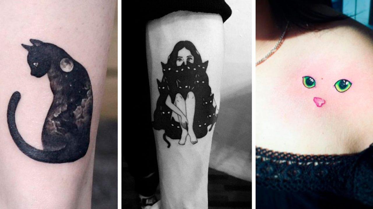 25 Tatuajes De Mininos Para Todas Las Amantes De Los Gatos