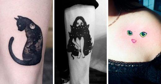 tatuajes gatos