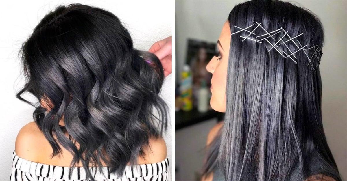 El pelo carbón es la nueva moda de Instagram que te volverá loca