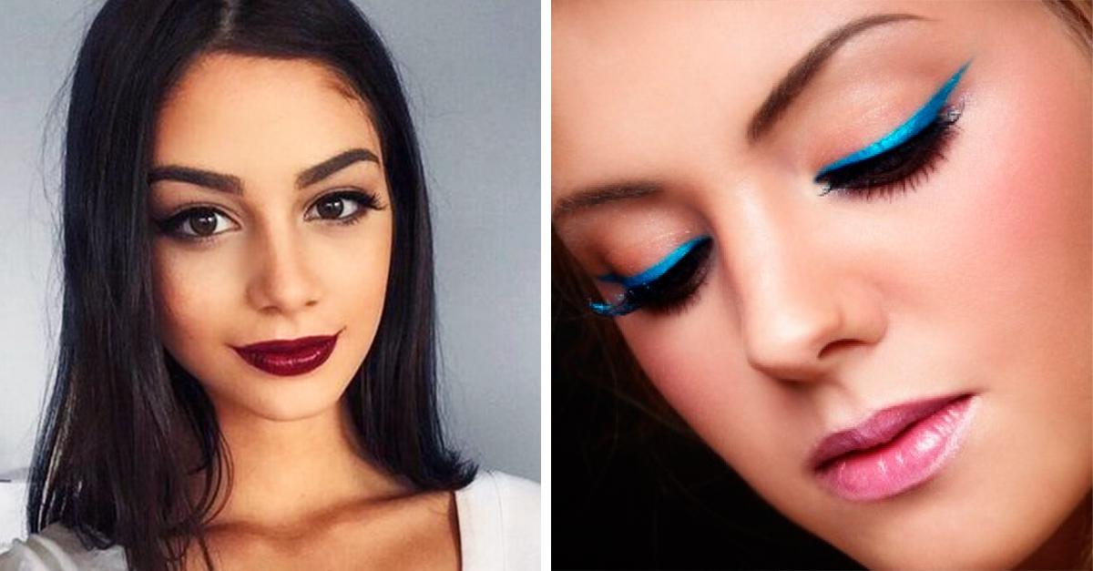 tendencias sencillas de maquillaje