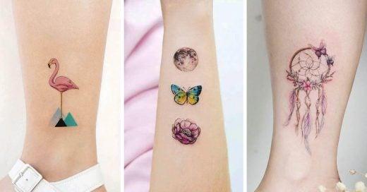 Tatuajes tan femeninos