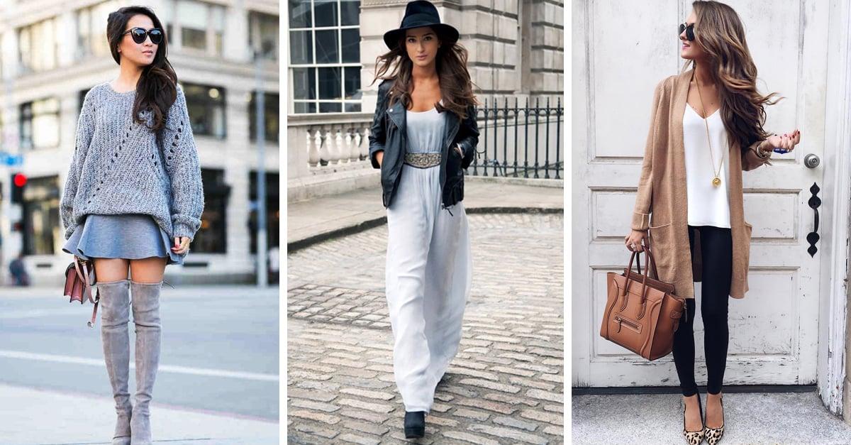15 Alternativas para usar tu ropa de verano en invierno