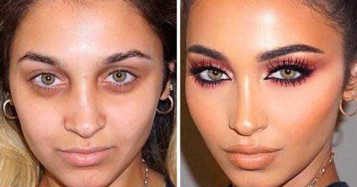15 increíbles transformaciones antes y después que harán que desees ser mejor con el maquillaje