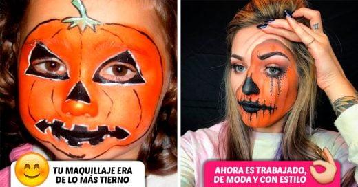 16 Antes y después de cómo celebrabas Halloween antes de entrar en el mundo de los adultos
