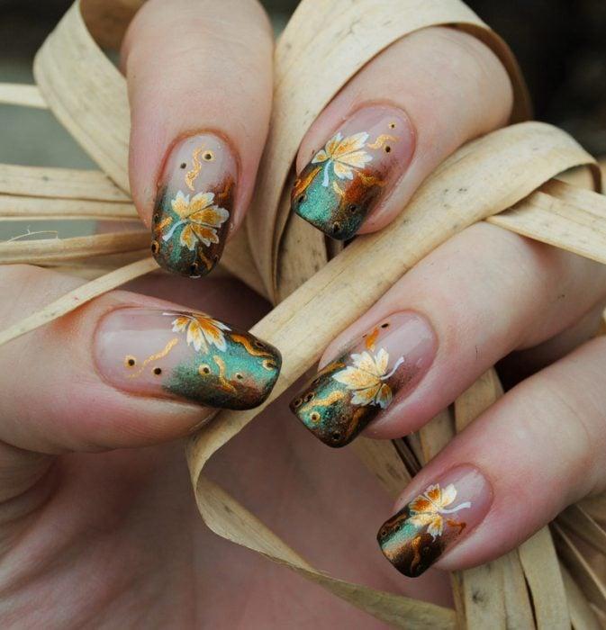 uñas de otoño