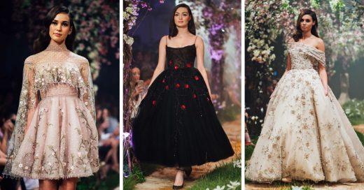 Estos vestidos de alta costura inspirados en Disney te harán sentir como una princesa