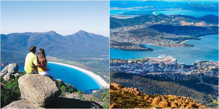 viajes en pareja tasmania