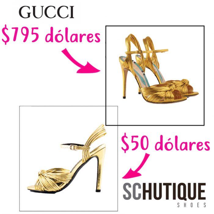 zapatos de diseñador vs zapatos accesibles gucci schutique