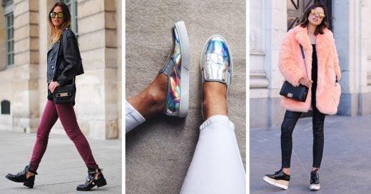 Los zapatos de invierno no se reduce a botas y botines