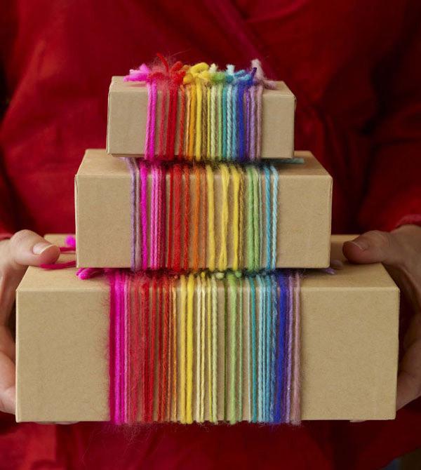 15 Ideas originales para envolver tus regalos esta Navidad