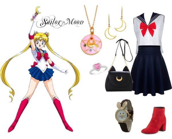 Outfit inspirado en Sailor Moon
