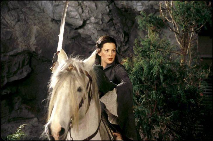 arwen y el caballo