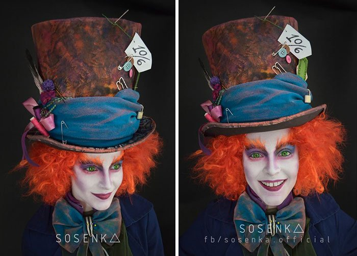 el sombrerero loco sonsenka