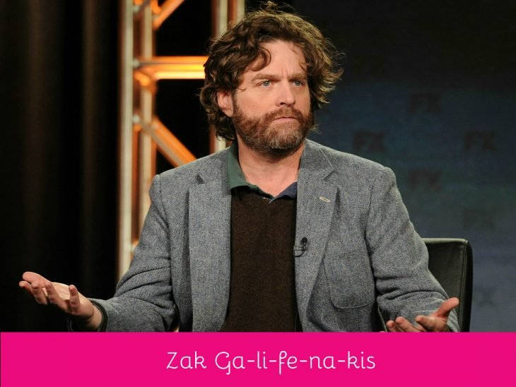 Zach Galifianakis pronunciación correcta