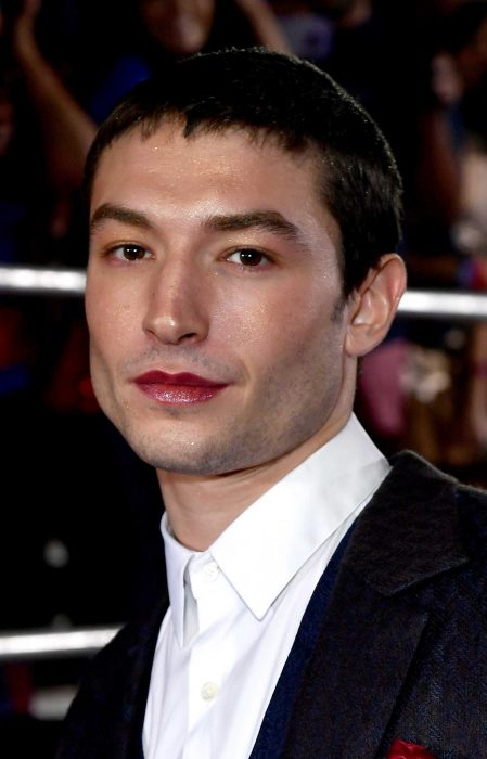 Ezra Miller lipstick