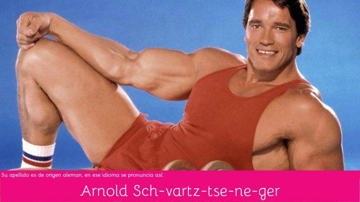 Arnold Schwarzenegger pronunciación correcta