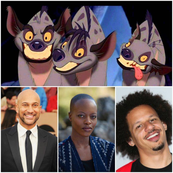 Las hienas - Eric André - Azizi, Florence Kasumba - Shenzi, Keegan - Michael Key - Kamari