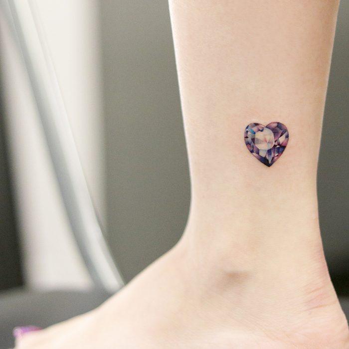 tatuaje de joya