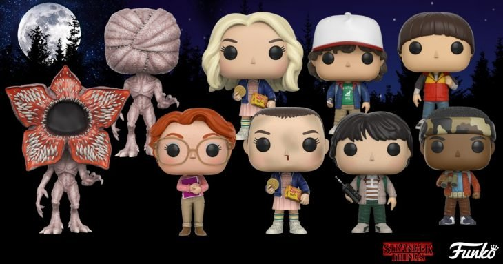 Muñecos de stranger things
