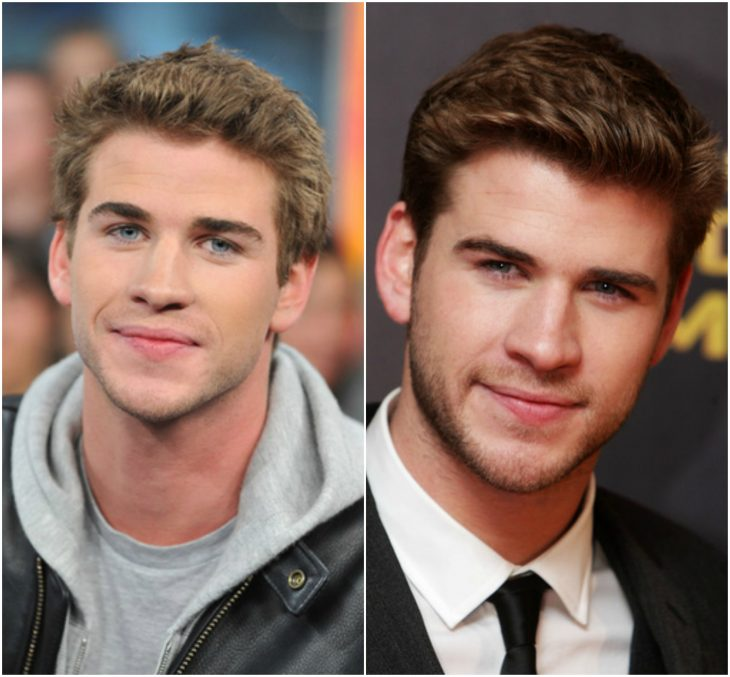 14. Liam Hemsworth sin y con barba
