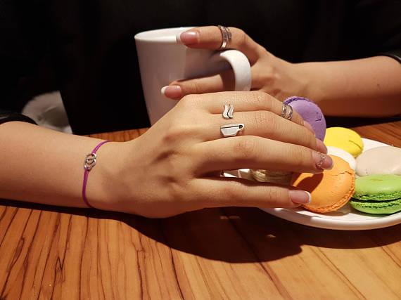 anillo de taza de café