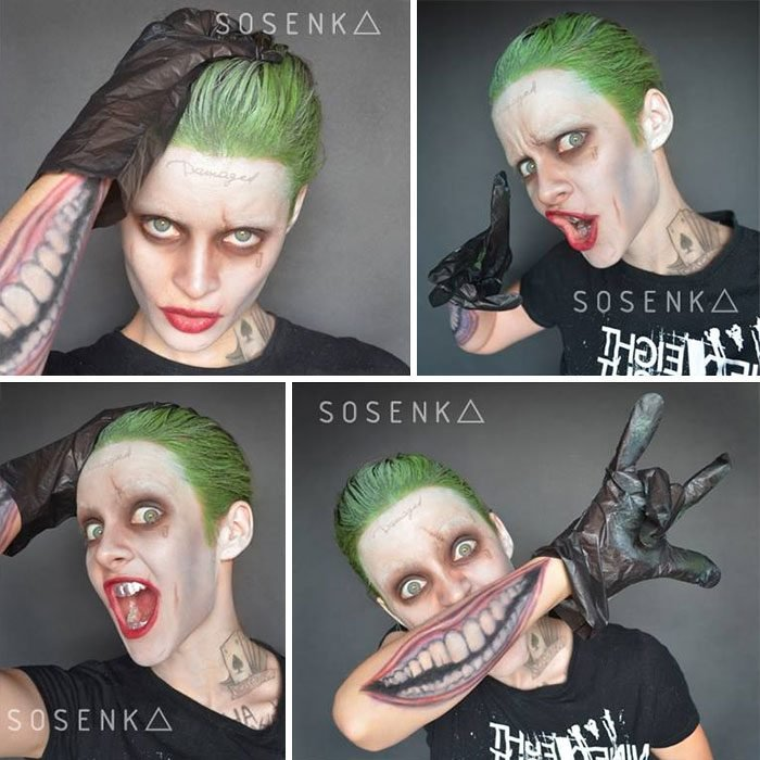 joker jared leto cosplay sosenka