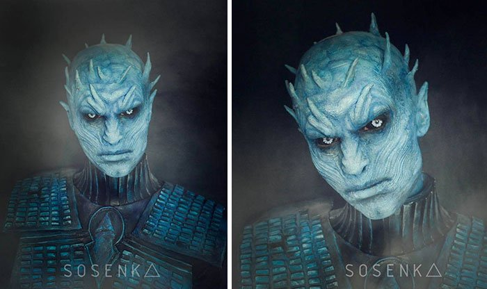 night king de game of thrones sosenka