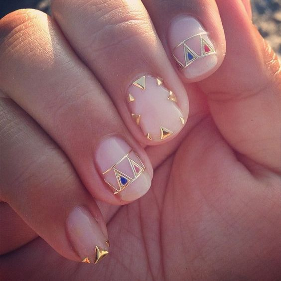 17 uñas con alambre