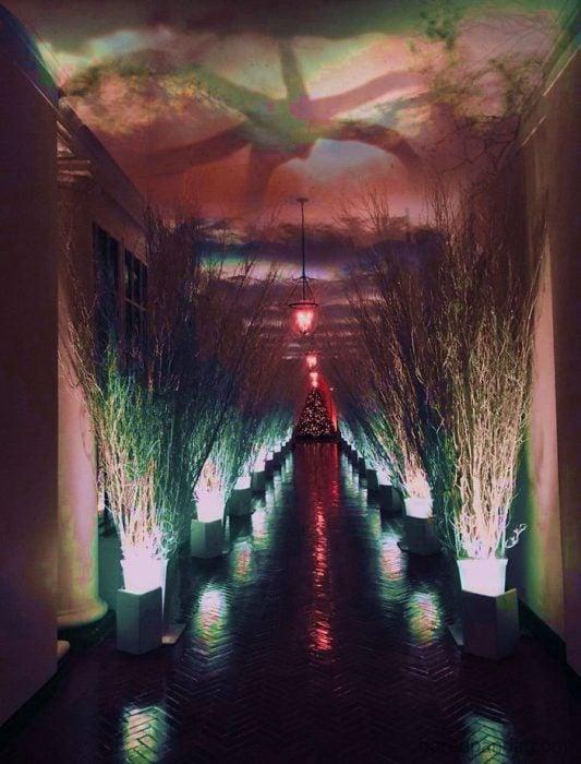 Melania Trump decoración trol