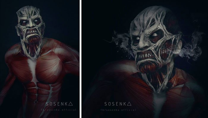 colossal titan, attack on titan