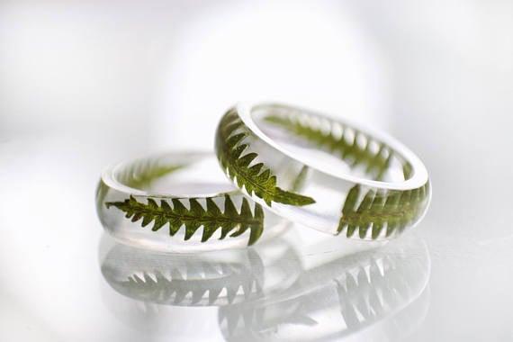 anillo de helecho