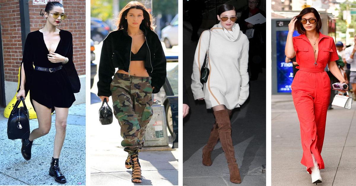 looks anti jeans de bella hadid