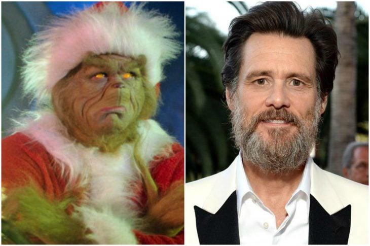 Jim Carrey con barba larga