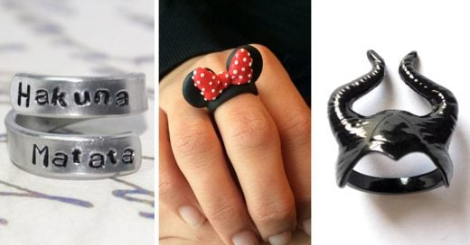 anillos disney