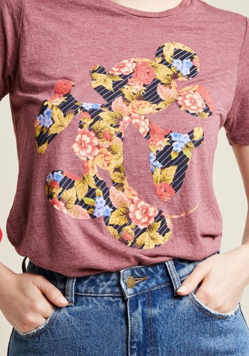 blusa inspirada en disney