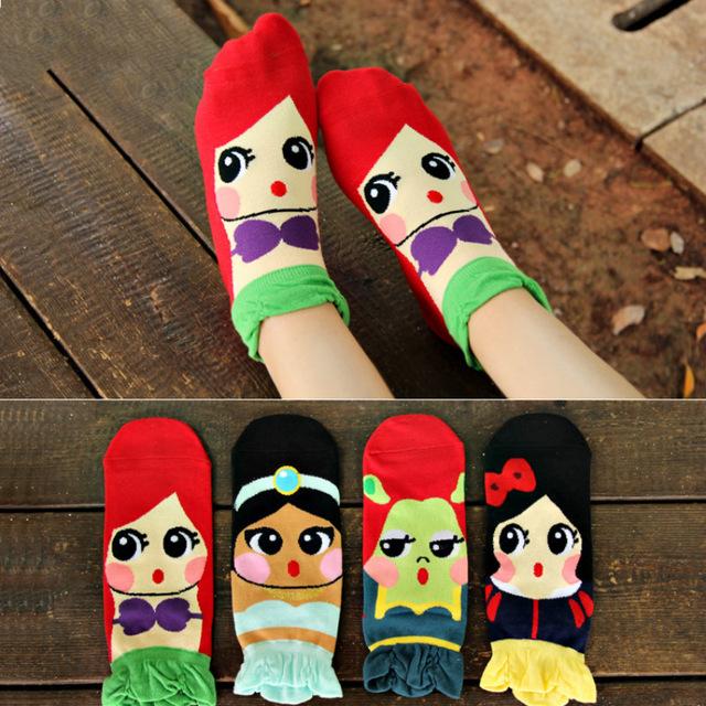 calcetas de princesas