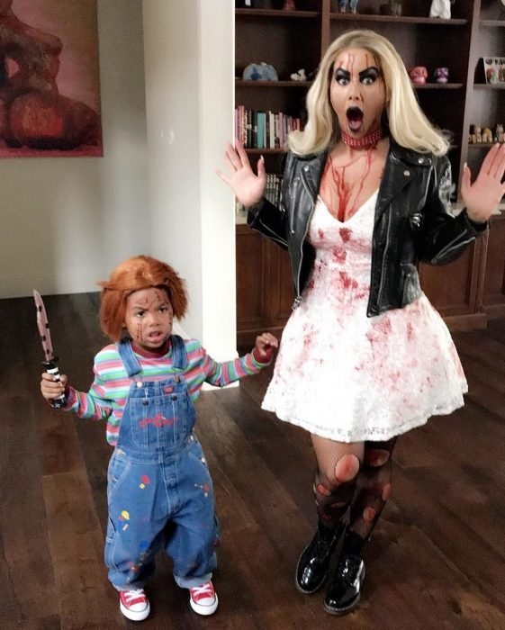 Amber Rose de Chucky y Tiffany