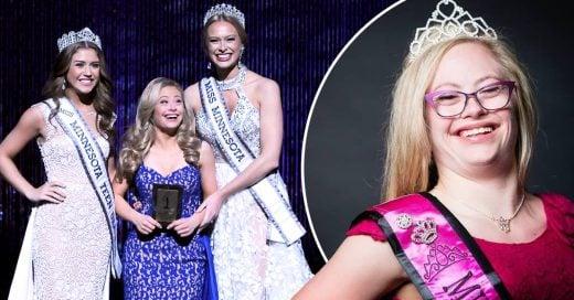 Chica con síndrome de down participa por primera vez en Miss USA