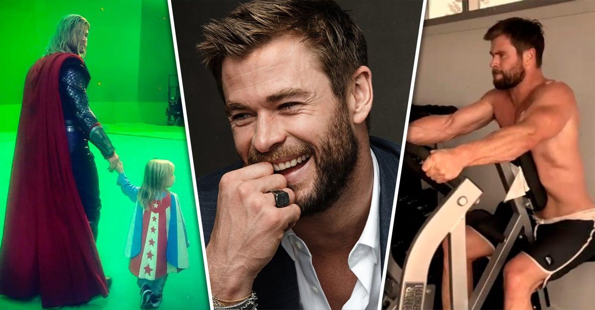 20 Veces que Chris Hemsworth nos hizo sentir realmente enamoradas