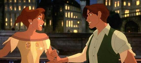 Escena de la película Anastasia