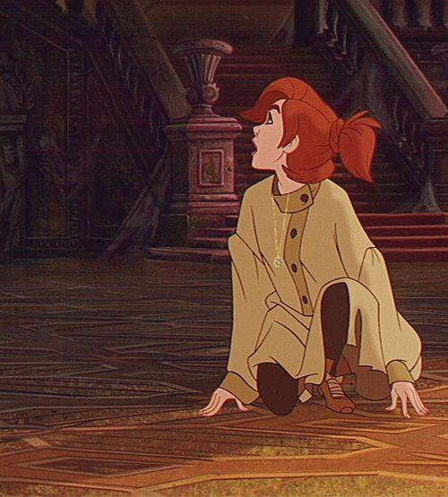 escena de la cinta Anastasia