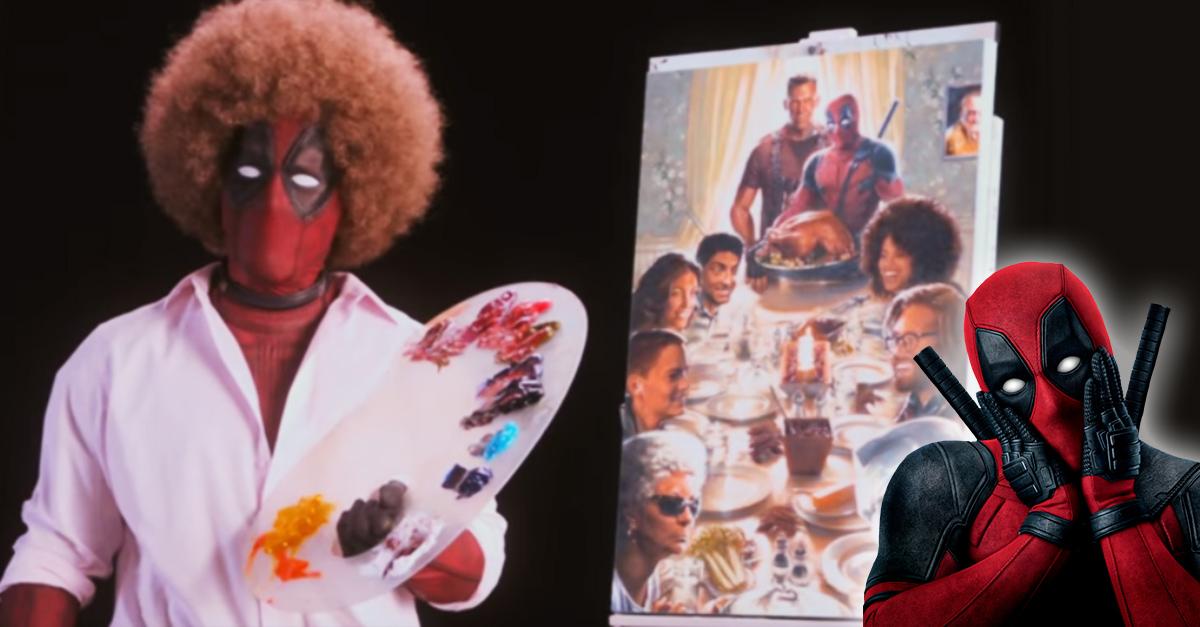 Deadpool 2 hizo una parodia de Bob Ross