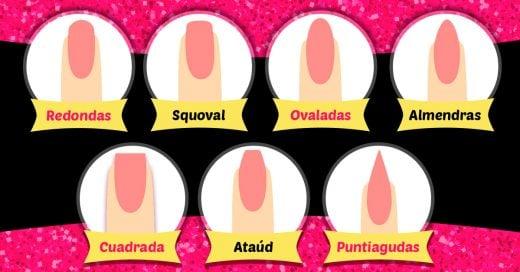 7 Formas de uñas que puedes lograr en casa sin ir al salón de belleza; luces unas manos fabulosas