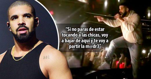 Drake detuvo su concierto para impedir acoso sexual