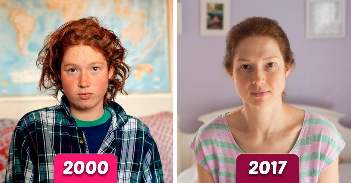Esta chica fotografío a sus amigas por 17 años solo para demostrar la forma en que envejecen las mujeres