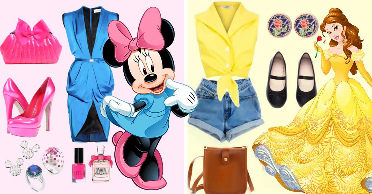 Estilos femeninos inspirados en los personajes de Disney
